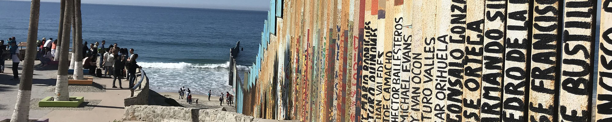 Border Fence in Imperial Beach